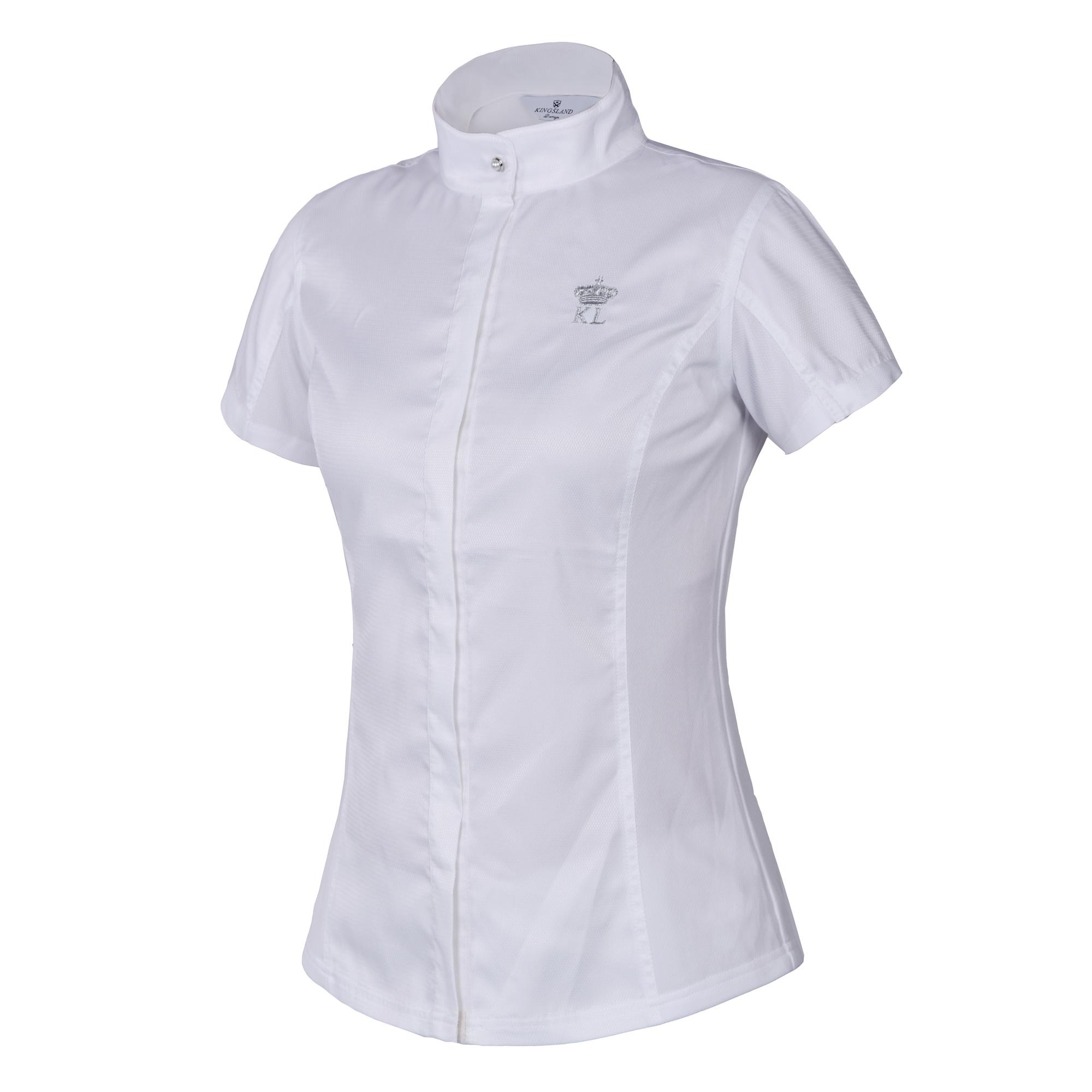 KLD Golania Dame StævneSkjorte Hvid
